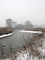 Ukraine Irpen 2010. First snow. River Irpen 6.jpg