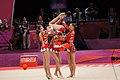 Ukraine Rhythmic gymnastics at the 2012 Summer Olympics (7915639156).jpg