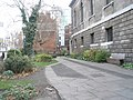 Uninviting seat within St Giles Churchyard - geograph.org.uk - 1104840.jpg