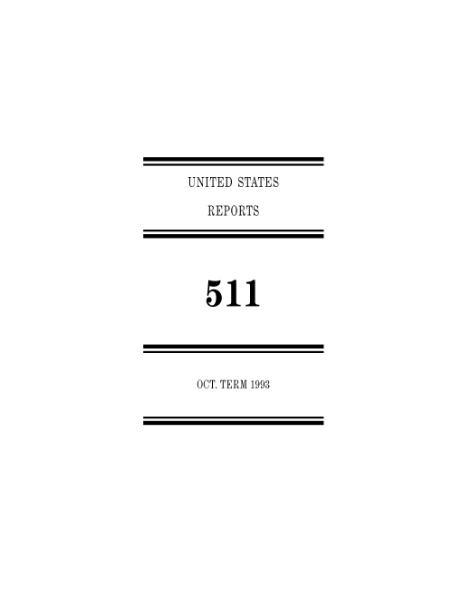 File:United States Reports, Volume 511.djvu