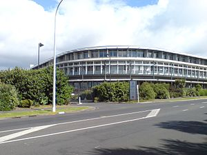 University of Auckland - The School of Population Health building on the Tāmaki Campus