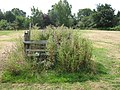 Unused Stile in horse paddock, near Headcorn - geograph.org.uk - 1420723.jpg