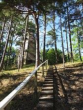 Upp till Norra Fyren Gotska Sandön.jpg