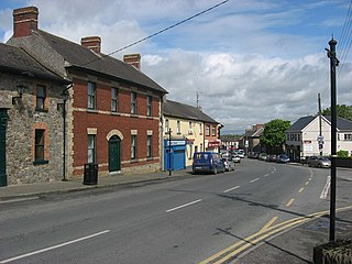 Dunleer Town in Leinster, Ireland