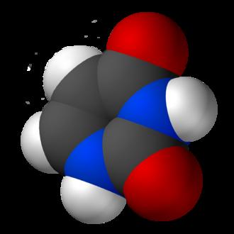 Uracil - Image: Uracil 3D vd W