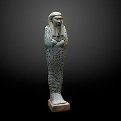 Ushebti figurine of Uah-ib-Rê-em-akhet-MAHG D 0007