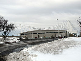De Utah Olympic Oval in Salt Lake City