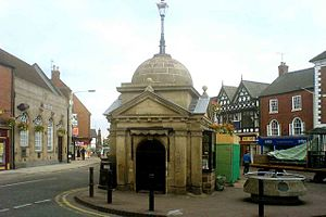 English: Uttoxeter Uttoxeter market place