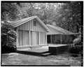 VIEW OF REAR PORCH - Jimmy Carter House, 209 Woodland Drive, Plains, Sumter County, GA HABS GA,131-PLAIN,2-6.tif