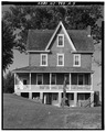 VIEW OF SOUTH FACADE - Amaziah Burcham Farm, House, South Second Avenue, Millville, Cumberland County, NJ HABS NJ,6-MILLV,4A-5.tif