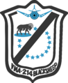VMA-214 Blacksheep squadron patch.png