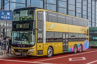 Hong Kong–Zhuhai–Macau Bridge - Shuttle buses between Hong Kong and Zhuhai/Macau