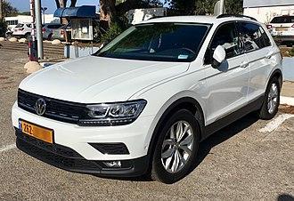 Volkswagen Tiguan - Image: VW Tiguan in Haifa Israel