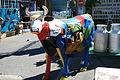Vache multicolore à la brocante et aux antiquités à l'Isle-sur-la-Sorgue.jpg