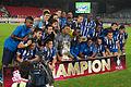 Valais Cup 2013 - OM-FC Porto 13-07-2013 - FC Porto avec la coupe.jpg