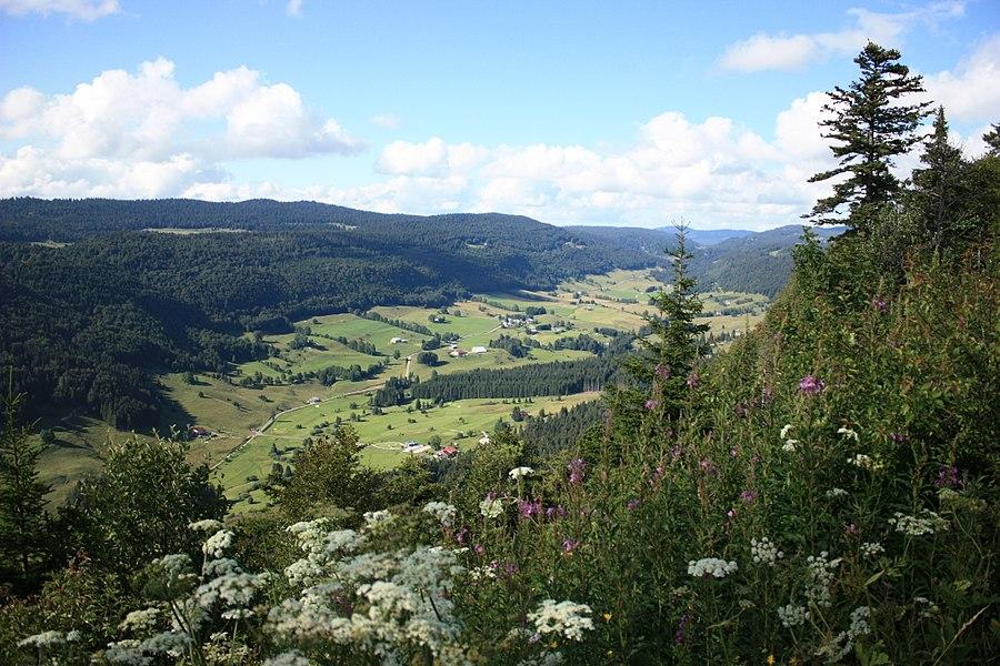 Vallée de la Valserine et massif du massacre