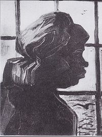 Van Gogh - Kopf einer Bäuerin vor dem Fenster.jpeg