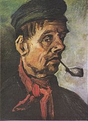 Head of a Man with a Pipe