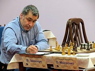 Vassily Ivanchuk - Ivanchuk playing against Alexander Moiseenko, Ukrainian Championship, 2014
