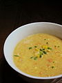 Vegan Garden Corn Chowder with Chives (14293935184).jpg