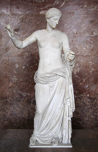 Thespiae - The Venus of Arles, modeled after the Aphrodite of Thespiae by Praxiteles