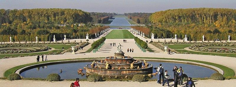 File versailles gaart vum wikimedia commons for Jardin chateau de versailles