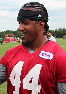 Vic Beasley American football defensive end