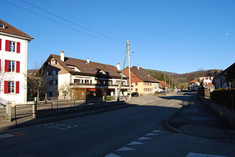 Vicques, Switzerland - Houses in Vicques