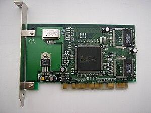 PowerVR - VideoLogic Apocalypse 3Dx (NEC PowerVR PCX2 chip)