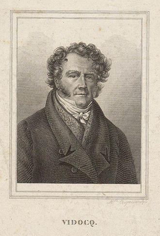 Eugène François Vidocq - Eugène François Vidocq. Portrait by Marie Gabrielle Coignet.