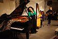 Vienna 2013-11-21 Porgy+Bess - RAU sound recording, fr. l, Lin, Felber-Armakan, Stadler, Stoiber.jpg