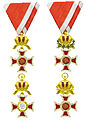 Viermaal de Oostenrijkse Leopoldsorde.jpg