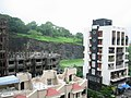 View from Mumbai Marol Hilllview flat.JPG