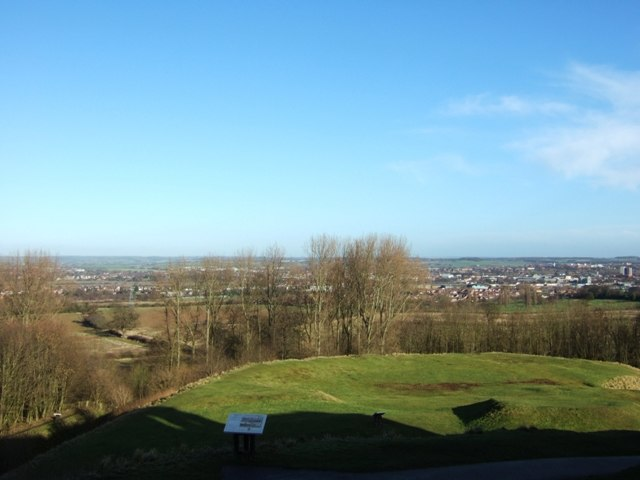 View from Stafford Castle - geograph.org.uk - 1136200