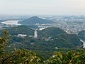 View from the observation platform on the top of Mount Tsugao - 2.jpg