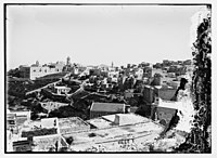 View of Bethlehem with Herodium in the distance LOC matpc.04909.jpg