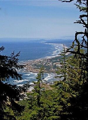 Yachats, Oregon - Yachats from Cape Perpetua