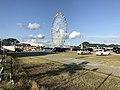 View of ferris wheel of Haikara't Yokocho 2.jpg