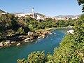 View on Neretva in Mostar 2.jpg