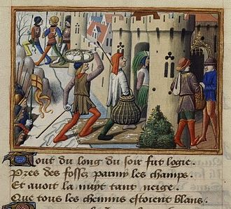 Richard of York, 3rd Duke of York - Englishmen entering Pontoise