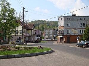 Zagórze Śląskie - Center of the village