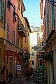 Villefranche-sur-Mer - Rue de Poilu - View SW.jpg