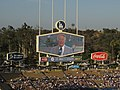 Vin Scully, Voice of the Los Angeles Dodgers, Dodger Stadium, Los Angeles, California (14514497801).jpg
