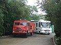 Vintage Fire Engine, Inverugie - geograph.org.uk - 239014.jpg