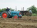 Vintage tractors on show at Boyes Lane, Keyingham - geograph.org.uk - 187724.jpg