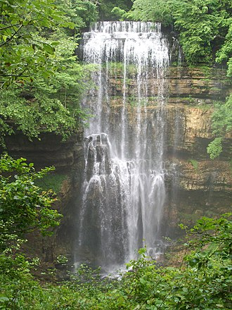 White County, Tennessee - Virgin Falls