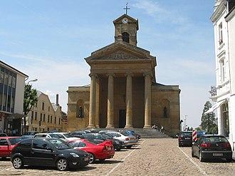 Virton - St Lawrence's church