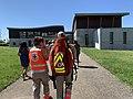 Visite de Jean-Jacques Eledjam à l'UL Dombes-Côtière (2019), bénévoles Croix Rouge.jpg