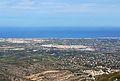 Vista d'Ondara des del castell d'Aixa.JPG