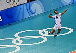 Volleyball at the 2008 Summer Olympics – Men's volleyball.jpg